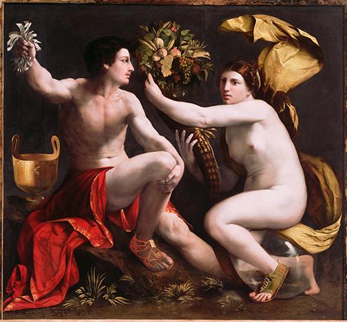 Dossi Allegory of Fortune c 1530 Italian